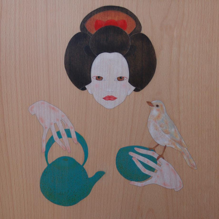 """""""geisha i la cerimònia del te"""""""