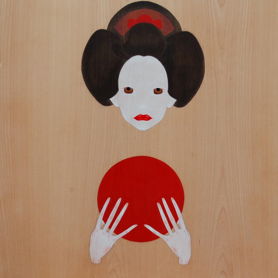 """""""geisha oferint el sol ixent"""""""