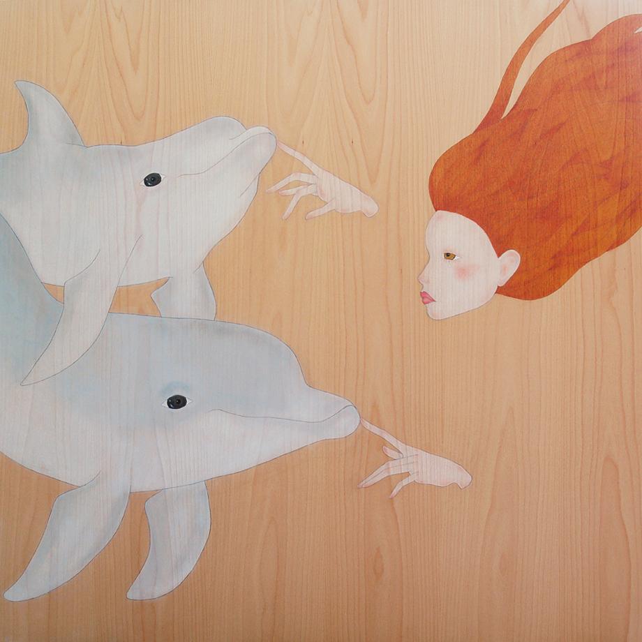 """""""don't go to taiji dear dolphins"""""""