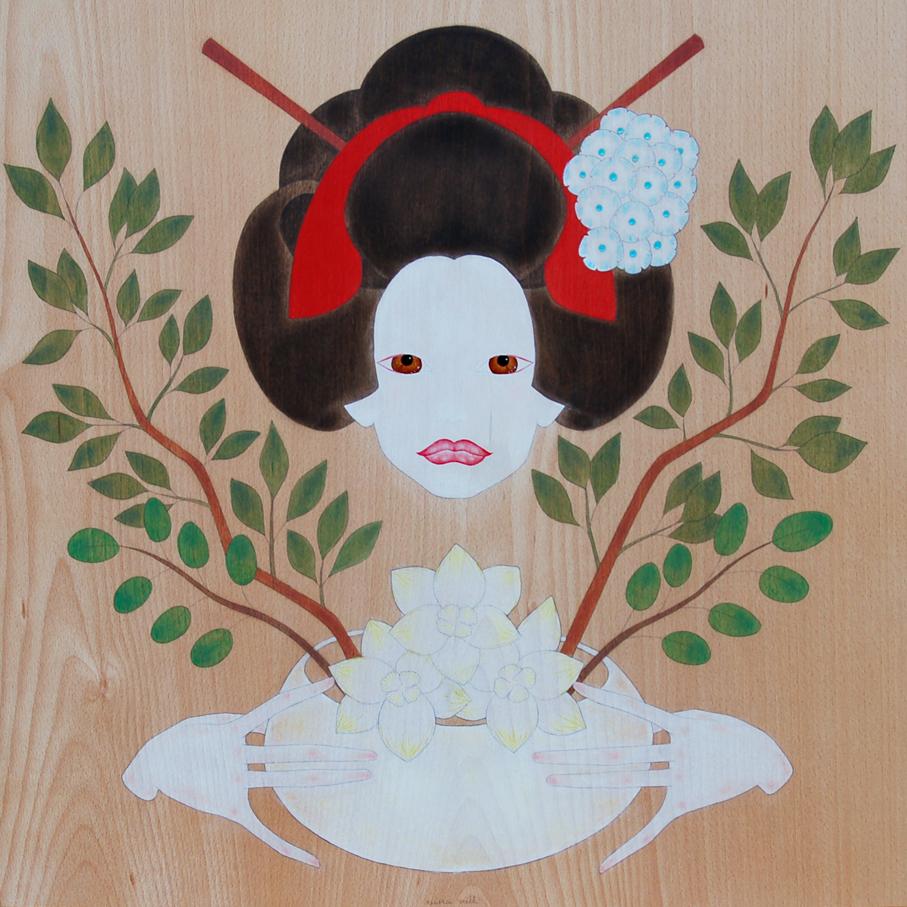 """maiko i l'art i-kebana"""