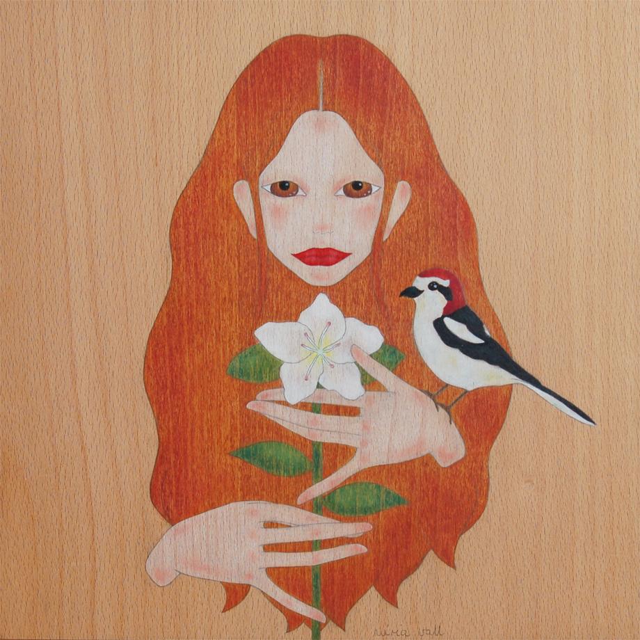 """""""nina, ocell i azalea"""""""