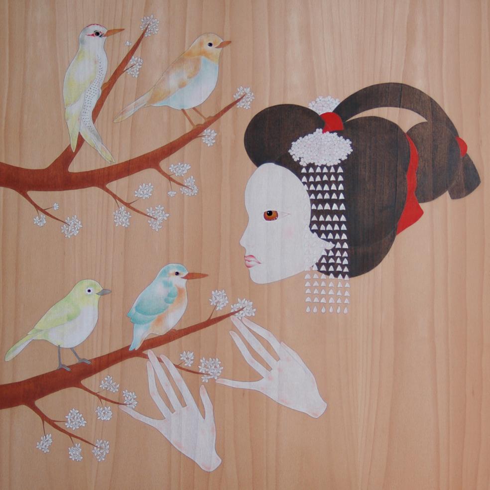 """maiko, cirerer i ocells"""