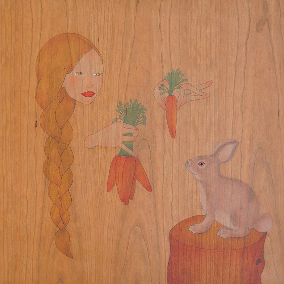 que vols menjar pastanagues  conill de bosc?