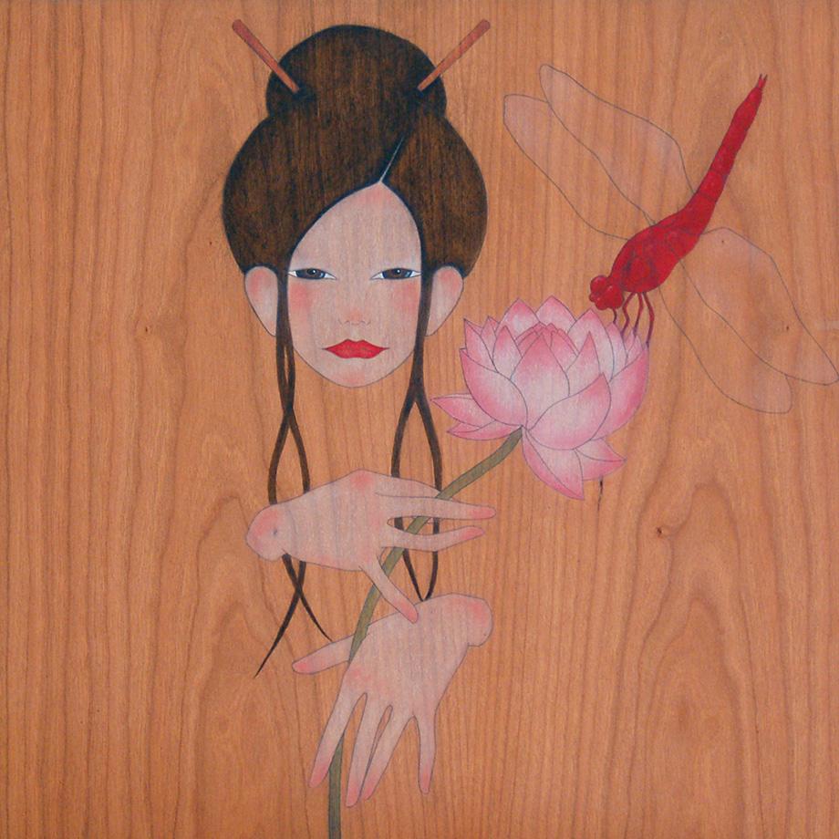 livel·lula, a tu també t'agrada  el dolç aroma del lotus