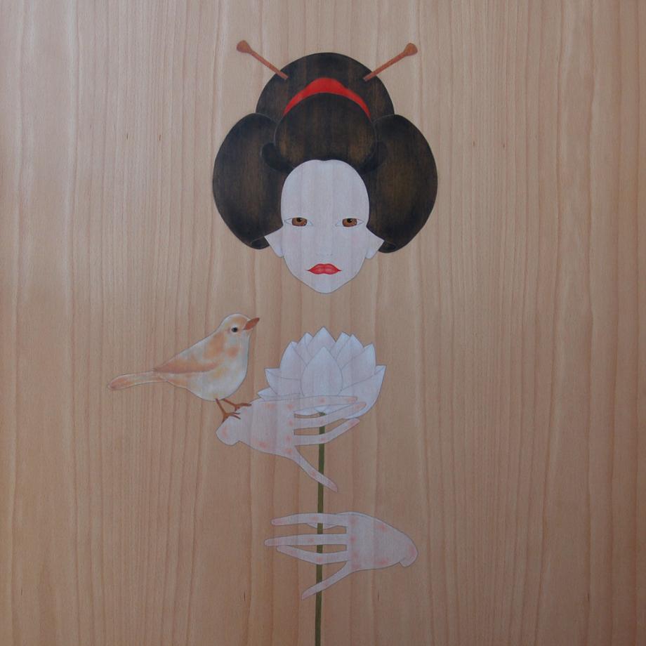 """""""geisha i lotus blanc"""""""