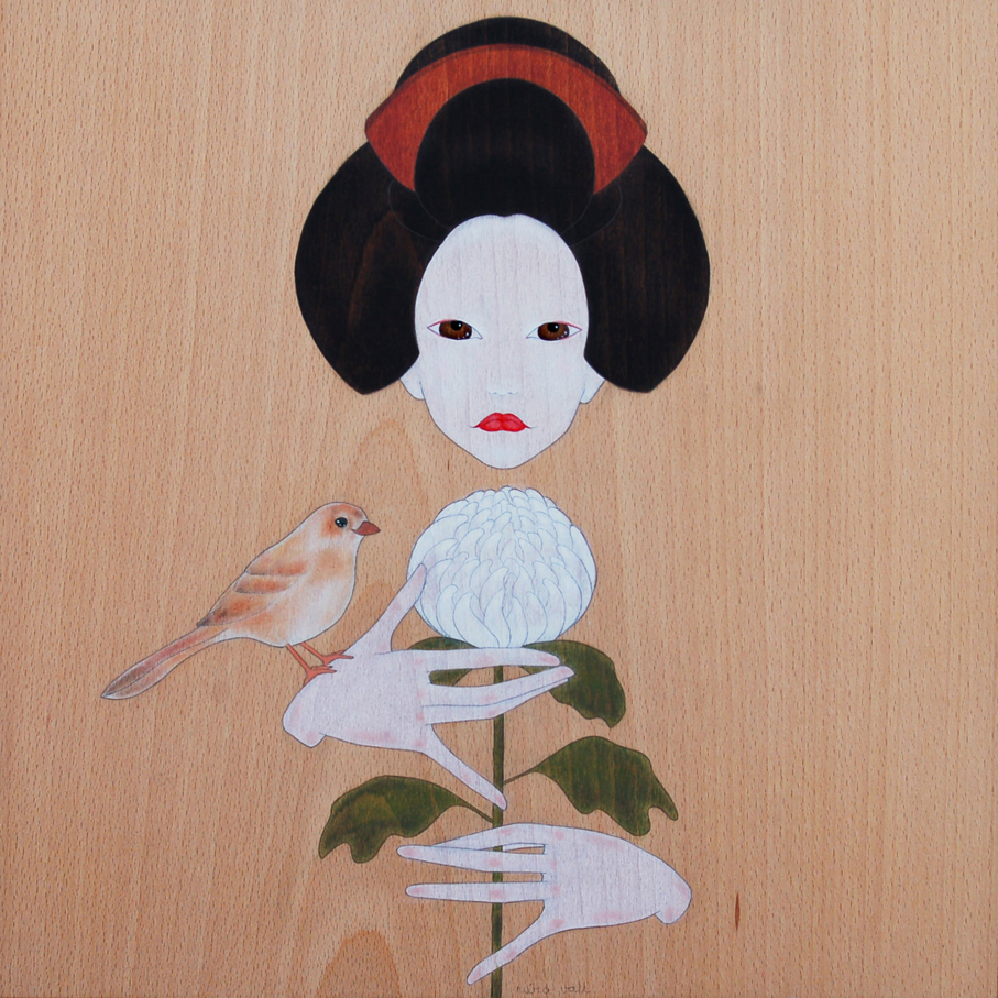 """""""geisha i crisantem"""""""