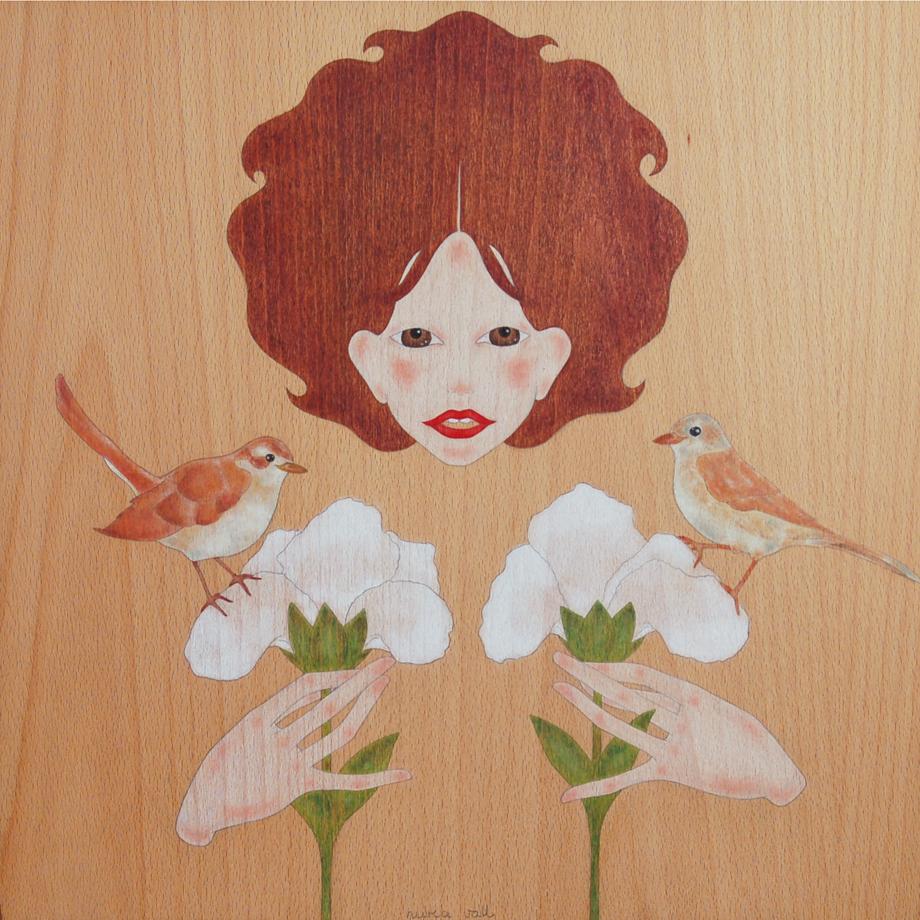 """nina, ocells i iris"""